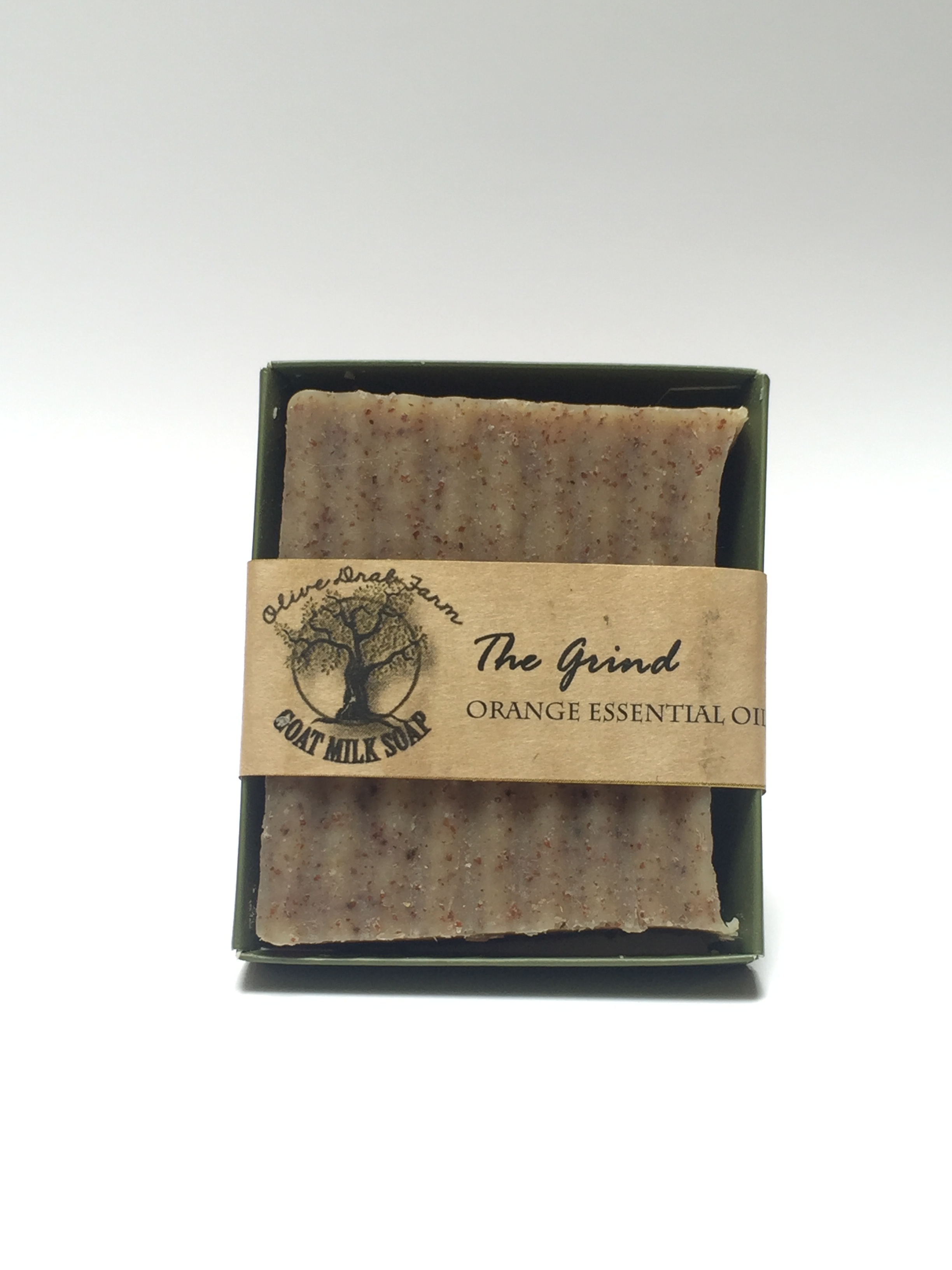 The Grind Mechanic Gardner Bar Soap Olive Drab Farm